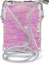 styleBREAKER Mini Bag Umhängetasche mit Wende-Pailletten, Schultertasche, Handtasche, Tasche, Damen 02012240 – Bild 34