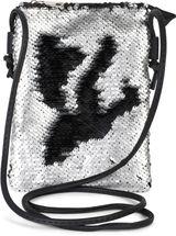 styleBREAKER Mini Bag Umhängetasche mit Wende-Pailletten, Schultertasche, Handtasche, Tasche, Damen 02012240 – Bild 43