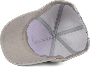 styleBREAKER 6-Panel Cap in Crunched Optik, Baseball Cap gekreppt, Basecap, verstellbar, Unisex 04023058 – Bild 5