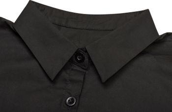 styleBREAKER Blusenkragen Einsatz mit Knopfleiste und Schleife, Kragen für Blusen und Pullover, Schluppenbluse, Damen 08020003 – Bild 11