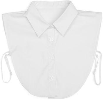 styleBREAKER Damen Blusenkragen Einsatz mit Knopfleiste und Schleife, Kragen für Blusen und Pullover, Schluppenbluse 08020003 – Bild 24