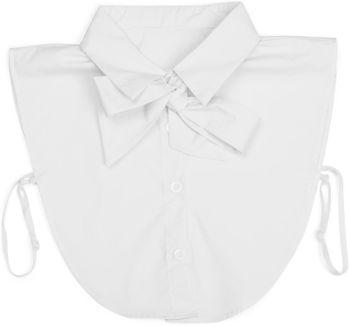 styleBREAKER Damen Blusenkragen Einsatz mit Knopfleiste und Schleife, Kragen für Blusen und Pullover, Schluppenbluse 08020003 – Bild 22