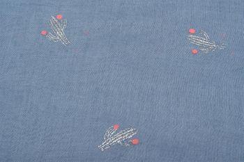 styleBREAKER Loop Schal mit glitzerndem Metallic Kaktus All Over Print Muster, Schlauchschal, Tuch, Damen 01016166 – Bild 3