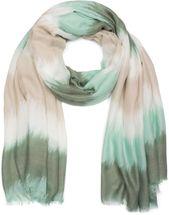 styleBREAKER Schal mit Streifen Zacken Verlauf Muster und Fransen, Tuch, Damen 01016167 – Bild 21
