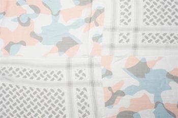 styleBREAKER Dreieckstuch XXL mit Camouflage Mustermix, Pailletten Stern, Quasten und Fransen, Schal, Tuch, Damen 01016169 – Bild 20