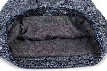 styleBREAKER Beanie Mütze mit Glitzerfaden und kleinen Pailletten, Slouch Longbeanie, Damen 04024148 – Bild 9