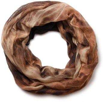 styleBREAKER flame pattern batik style loop tube scarf 01018041 – Bild 3