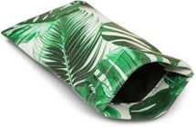 styleBREAKER Etui für Sonnenbrillen mit Palmen Print und Putztuch, Brillenetui mit Schnappverschluss, Unisex 09020086 – Bild 1