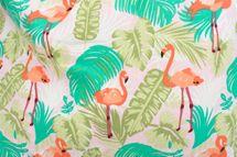 styleBREAKER XXL Strandtasche mit Flamingo Palmen Print und Reißverschluss, Schultertasche, Shopper, Damen 02012247 – Bild 10