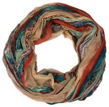 styleBREAKER tube scarf with stripes and paisley pattern 01018004 – Bild 13