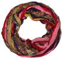 styleBREAKER tube scarf with stripes and paisley pattern 01018004 – Bild 10