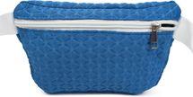 styleBREAKER Damen Bauchtasche geometrisches Muster geprägte Optik, Reißverschluss, Gürteltasche, Hüfttasche 02012253 – Bild 3