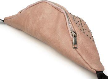 styleBREAKER Damen Bauchtasche mit Nieten Rauten, Gürteltasche, Hüfttasche 02012255 – Bild 3