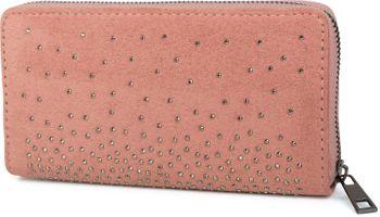 styleBREAKER Damen Geldbörse mit Strass Nieten, Reißverschluss, Portemonnaie 02040111 – Bild 2