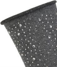 styleBREAKER Damen Socken mit Strass, Rollbündchen, Größe 35-41 EU / 5-9 US / 4-7 UK 08030003 – Bild 12