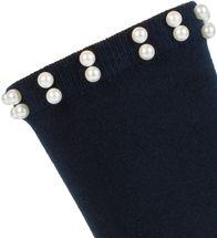 styleBREAKER Damen Socken mit Perlen, Größe 35-41 EU / 5-9 US / 4-7 UK, Söckchen 08030004 – Bild 12