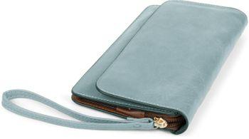 styleBREAKER Damen Clutch mit Überschlag und Trageschlaufe, Abendtasche, Portemonnaie 02012259 – Bild 29