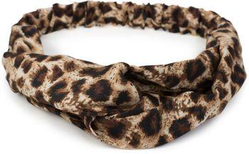 styleBREAKER Damen Haarband mit Leo Animal Print, Twist Knoten und Gummizug, Stirnband, Headband 04026020 – Bild 4