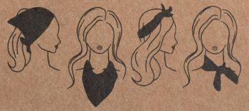 styleBREAKER Damen Dreieckstuch mit Polka Dots Punkte, Multifunktion Tuch, Halstuch, Kopftuch, Bandana 01016171 – Bild 8