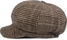 styleBREAKER Bakerboy Schirmmütze mit Glencheck Karo Muster, Ballonmütze, Newsboy Cap, Unisex 04023060 – Bild 7
