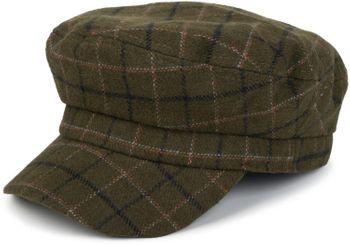 styleBREAKER Bakerboy Schirmmütze mit Tartan Karo Muster, Ballonmütze, Newsboy Cap, Unisex 04023062 – Bild 1