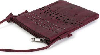 styleBREAKER Damen Mini Bag Umhängetasche Ethno Style und Nieten, Schultertasche, Handtasche, Tasche 02012260 – Bild 14