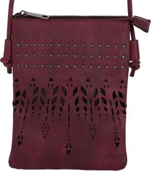 styleBREAKER Damen Mini Bag Umhängetasche Ethno Style und Nieten, Schultertasche, Handtasche, Tasche 02012260 – Bild 13