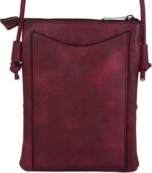 styleBREAKER Damen Mini Bag Umhängetasche Ethno Style und Nieten, Schultertasche, Handtasche, Tasche 02012260 – Bild 16