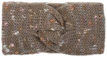 styleBREAKER Damen Strick Stirnband mit Knoten, gesprenkelt, Haarband, Headband 04026026 – Bild 7