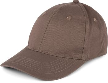 styleBREAKER klassisches 6 Panel Cap mit gebürsteter Oberfläche, Baseball Cap, verstellbar, Unisex 04023018