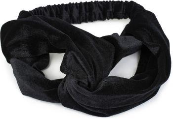 styleBREAKER Damen Haarband in Samt Optik mit Twist Knoten und Gummizug, Stirnband, Headband 04026027 – Bild 6