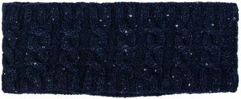 styleBREAKER Damen Strick Stirnband mit Zopfmuster und Pailletten, Fleece Futter, Haarband, Headband 04026028 – Bild 22
