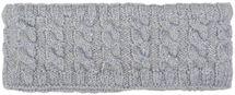 styleBREAKER Damen Strick Stirnband mit Zopfmuster und Pailletten, Fleece Futter, Haarband, Headband 04026028 – Bild 28