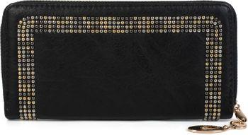 styleBREAKER Damen Geldbörse mit kleinen Nieten, Reißverschluss, Portemonnaie 02040116 – Bild 1