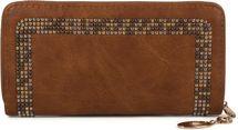 styleBREAKER Damen Geldbörse mit kleinen Nieten, Reißverschluss, Portemonnaie 02040116 – Bild 19