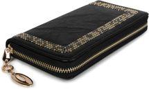 styleBREAKER Damen Geldbörse mit kleinen Nieten, Reißverschluss, Portemonnaie 02040116 – Bild 8