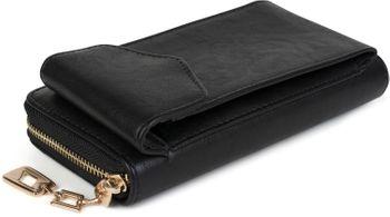 styleBREAKER Damen Portemonnaie mit Handyfach, Reißverschluss, Uni Geldbörse 02040117 – Bild 10