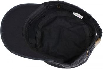 styleBREAKER Military Cap im washed, used Look, Vintage, verstellbar, Unisex 04023011 – Bild 13