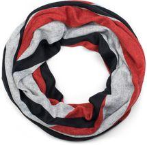 styleBREAKER Unisex Loop Schal Feinstrick mit Wellen Muster, Schlauchschal, Strickschal 01017080 – Bild 10