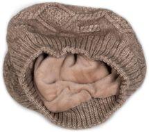 styleBREAKER Damen Feinstrick Baskenmütze mit Fleece Innenfutter, Winter, Barett, Franzosenmütze 04024151 – Bild 10
