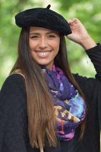 styleBREAKER Damen Baskenmütze in weicher Cord Optik, Barett, Franzosenmütze 04024152 – Bild 17