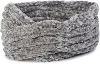 styleBREAKER Damen Chenille Strick Stirnband mit Knoten, warmes Winter Haarband, Headband 04026031 – Bild 15