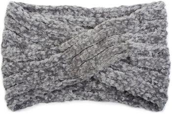 styleBREAKER Damen Chenille Strick Stirnband mit Knoten, warmes Winter Haarband, Headband 04026031 – Bild 14