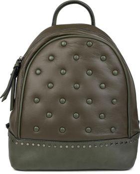 styleBREAKER Damen Rucksack Handtasche mit Nieten im Chesterfield-Stil, Reißverschluss, Tasche 02012266 – Bild 33