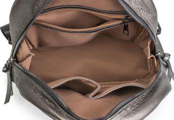 styleBREAKER Damen Rucksack Handtasche mit Nieten im Chesterfield-Stil, Reißverschluss, Tasche 02012266 – Bild 36