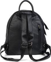 styleBREAKER Damen Rucksack Handtasche mit Nieten im Chesterfield-Stil, Reißverschluss, Tasche 02012266 – Bild 9