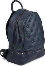 styleBREAKER Damen Rucksack Handtasche mit Nieten im Chesterfield-Stil, Reißverschluss, Tasche 02012266 – Bild 26