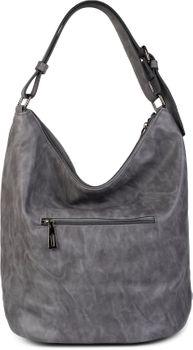 styleBREAKER Damen Hobo Bag Handtasche mit Perlen, Shopper, Schultertasche, Tasche 02012268 – Bild 12