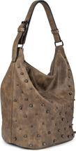 styleBREAKER Damen Hobo Bag Handtasche mit Perlen, Shopper, Schultertasche, Tasche 02012268 – Bild 5