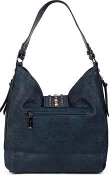 styleBREAKER Damen Hobo Bag Handtasche mit Nieten besetztem Verschluss, Shopper, Schultertasche, Tasche 02012270 – Bild 23
